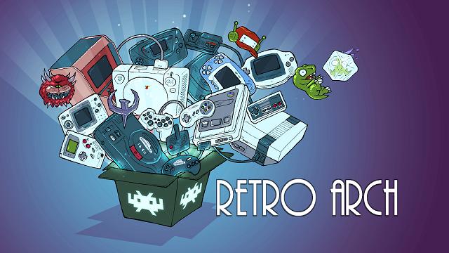 マルチエミュレータ RetroArch 【使い方】