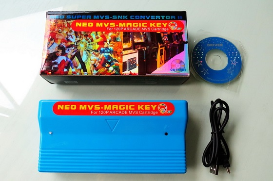 NEO SNK ARCADE MVS-Magic Key