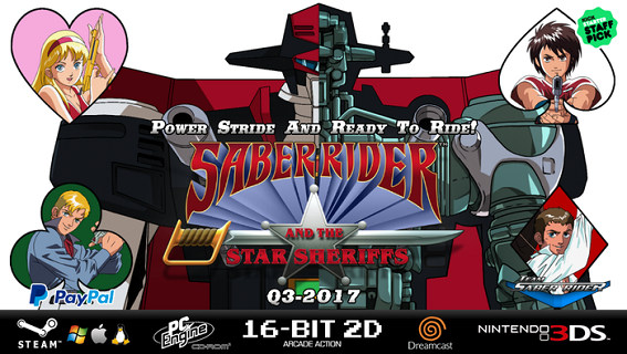 Saber Rider and Star Sheriffs