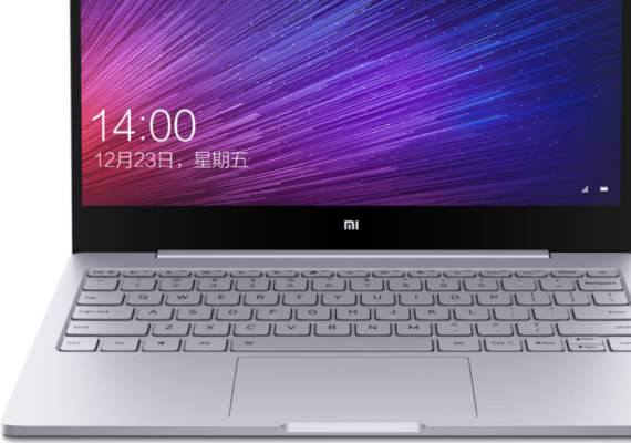 新しくなった「Xiaomi Mi Notebook Air」
