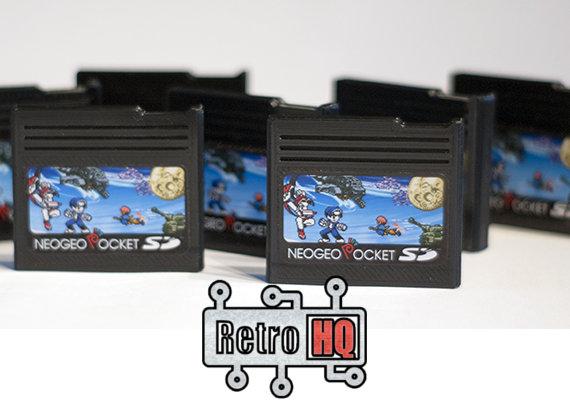 ネオジオポケットシリーズ専用のフラッシュカートリッジ「NeoGeo Pocket SD」が登場