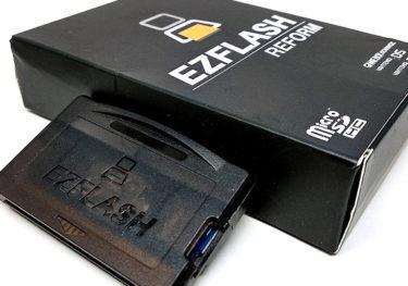 ゲームボーイアドバンスの新作マジコン「EZ-FLASH REFORM」をレビュー