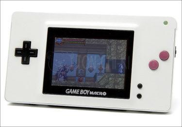 ゲームボーイマクロ(Gameboy Macro)のカスタマイズモデルが到着