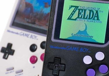 初代ゲームボーイ型コンソール「ゲームボーイゼロ(Gameboy Zero)」が安価に販売