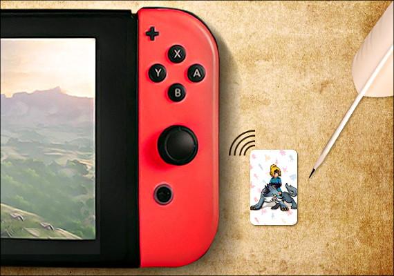ニンテンドースイッチで使える海賊版amiibo(アミーボ)カードがミニサイズになって登場