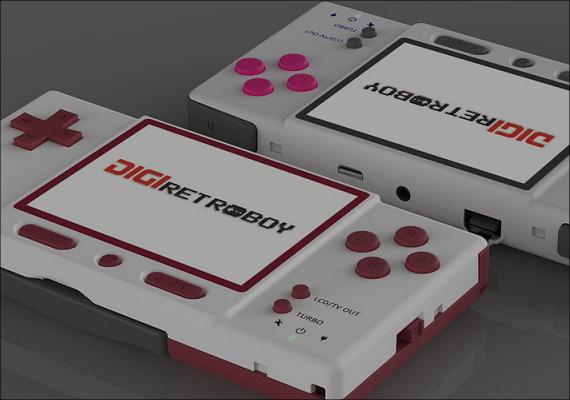 ゲームボーイアドバンス互換機「DIGI retroboy」が発売