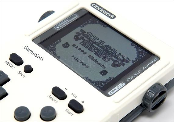 やってみよう!モジュラー型のゲームコンソール「GameShell」の初期設定・RetroArchの使い方