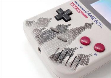 初代ゲームボーイ/ゲームボーイポケットにテトリスエディションの外装交換シェルが登場