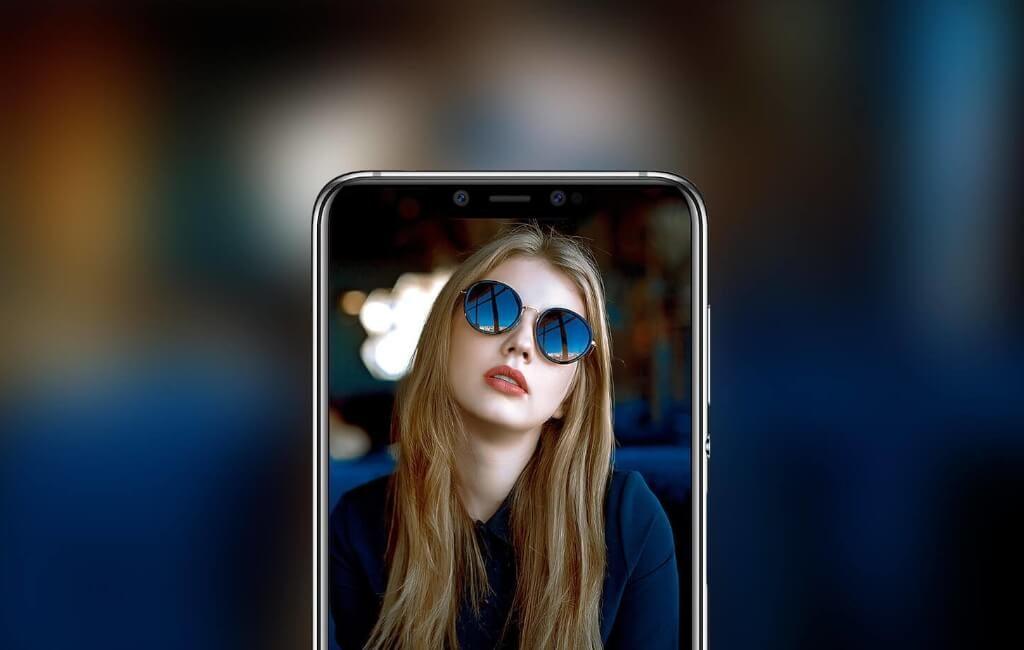 Elephone A5でポートレート撮影