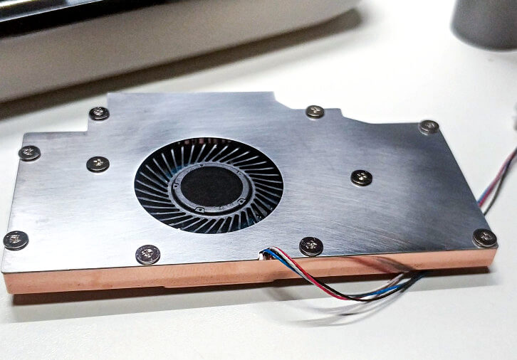 GPD WIN2の冷却MOD