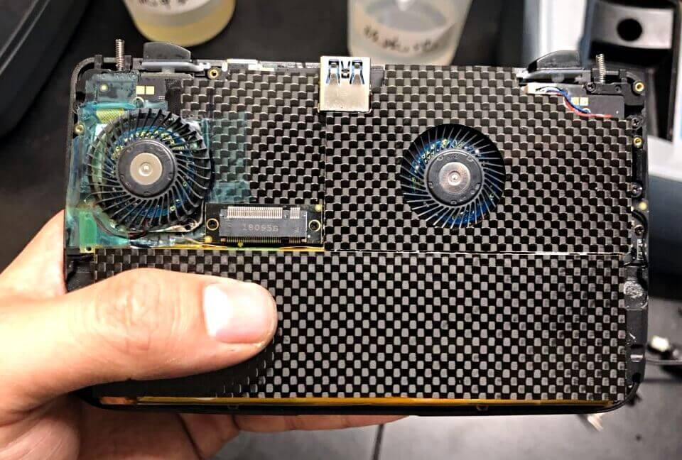 GPD WIN2のSSD冷却対策