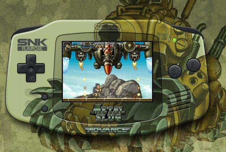 ゲームボーイアドバンスの限定モデル・メタルスラッグエディション