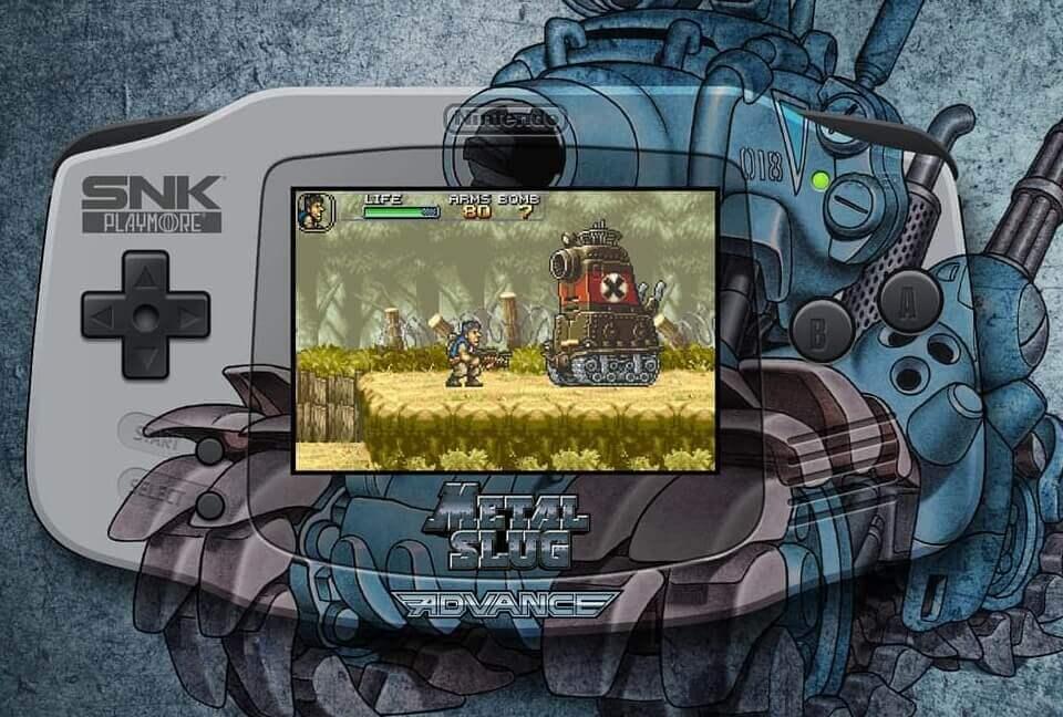 メタルスラッグ ゲームボーイアドバンス