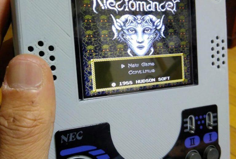 売り切れ必至!PCエンジンを携帯ゲーム機にできる工作キット「メルクリウス」
