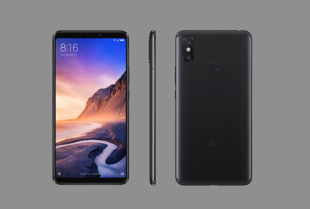 Xiaomi Mi Max 3のサイズ