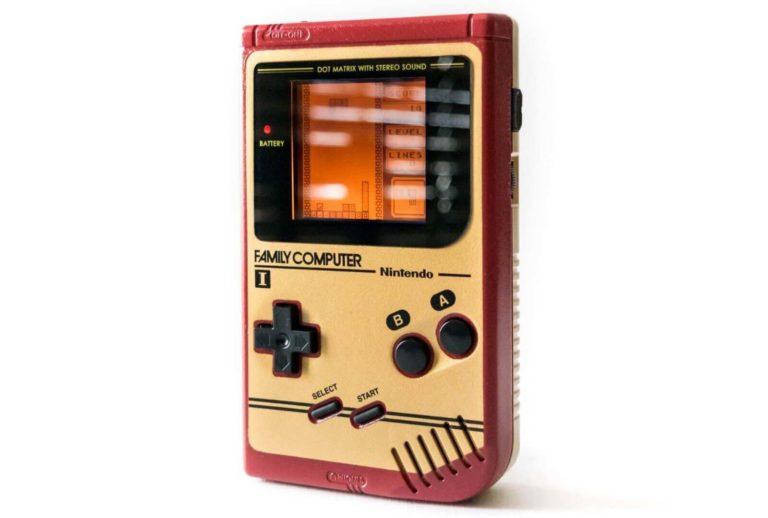 ファミコンエディションの初代ゲームボーイが再販決定