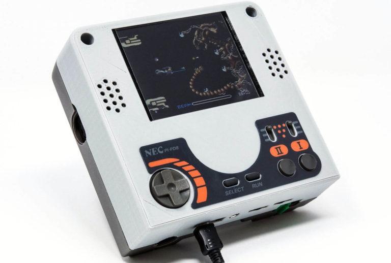 PCエンジンを携帯ゲーム機にできる工作キット「メルクリウス」をレビュー