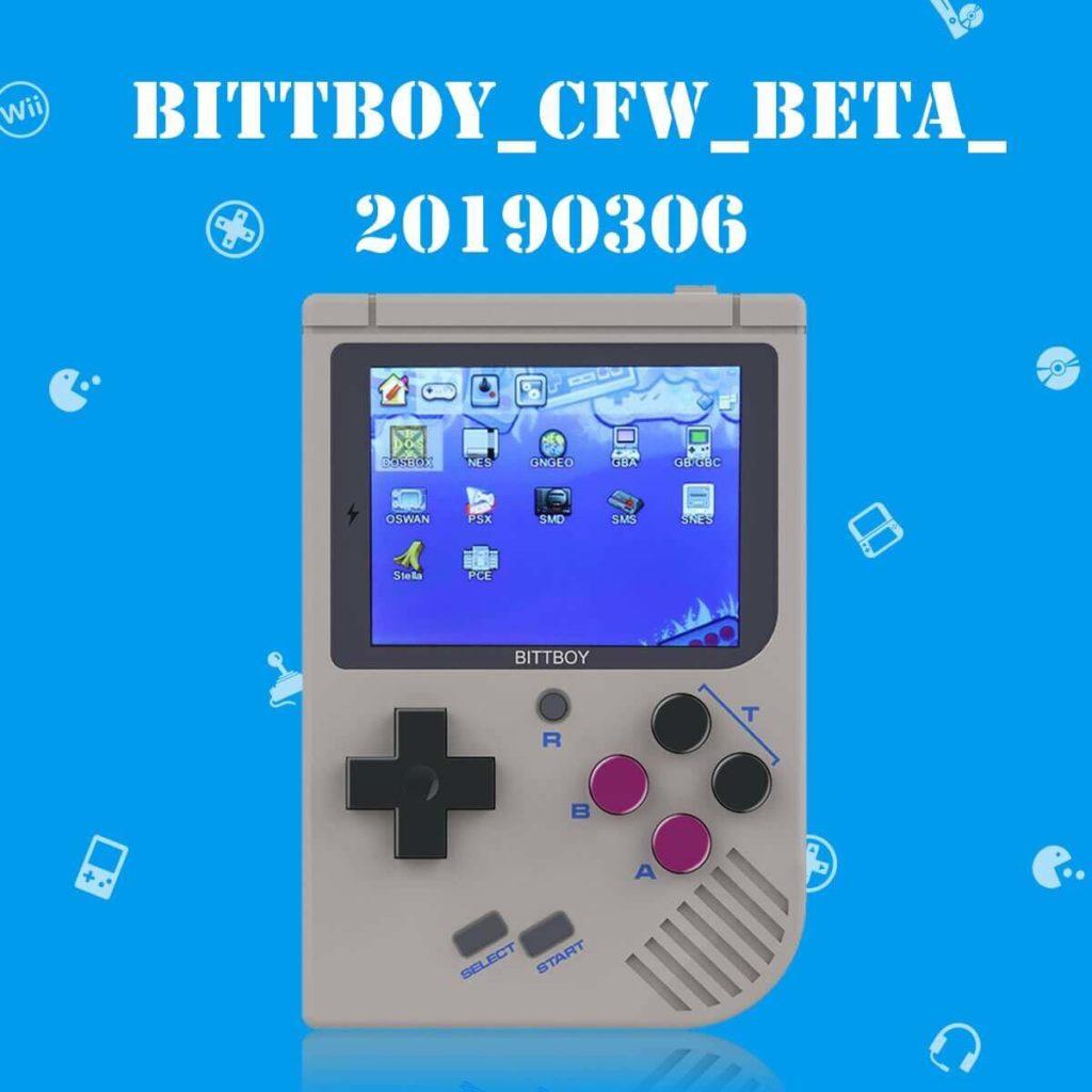 New BittBoy firmware