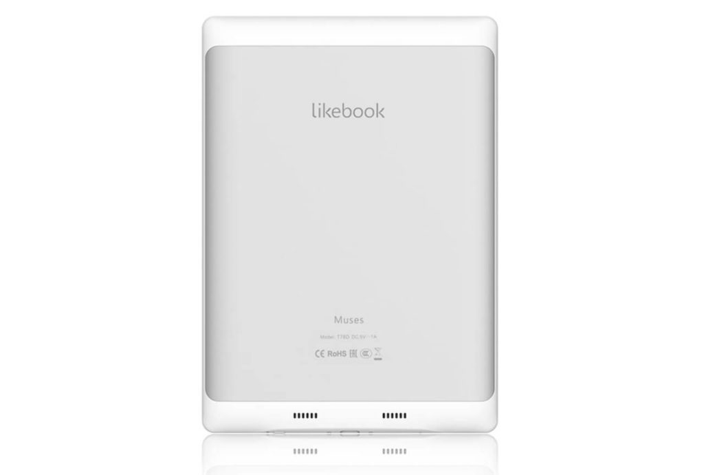 Likebook Muses T78Dはスピーカー搭載