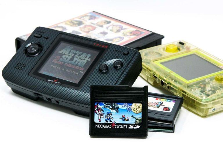 ネオジオポケット専用フラッシュカートリッジ「NeoGeo Pocket SD」