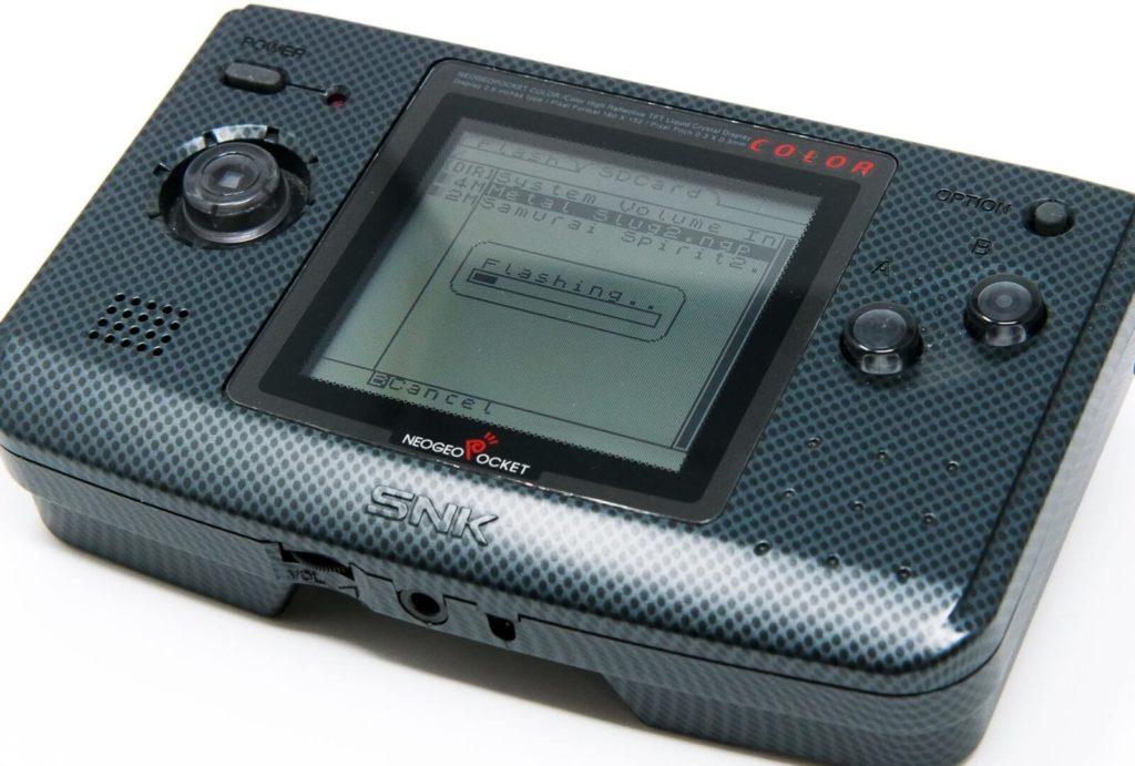 NeoGeo Pocket SDの書き込み
