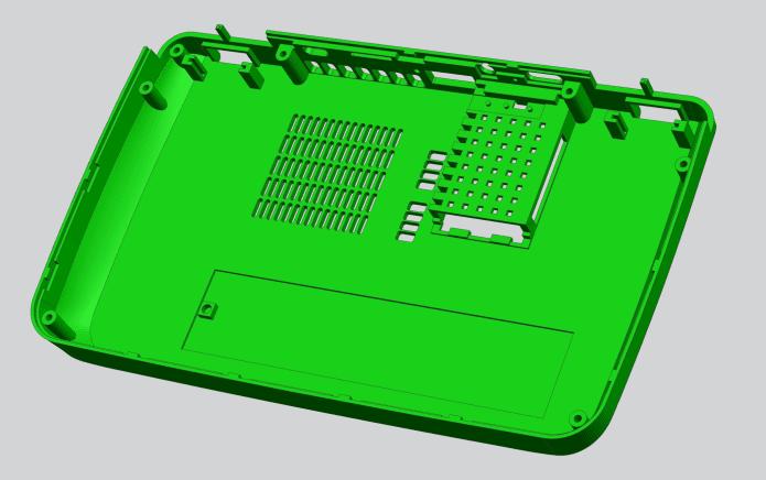 M.2 Type2280専用シェル