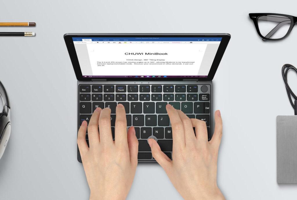 CHUWI MiniBookのクラウドファンディング