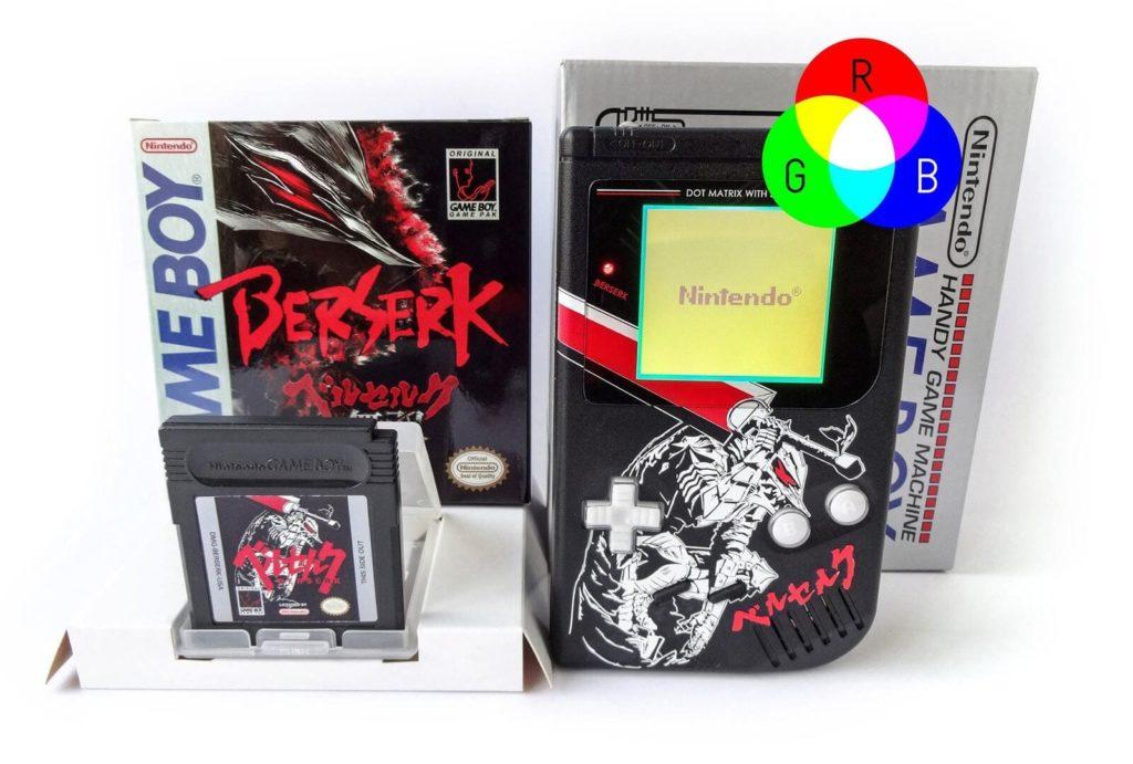 初代ゲームボーイ RGBバックライト