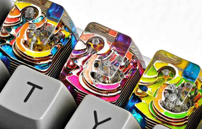 キーキャップ Jelly Key アーティファクトシリーズ