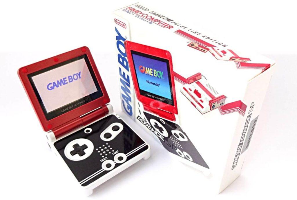ゲームボーイアドバンスSP|Famicom Pulse Line Edition