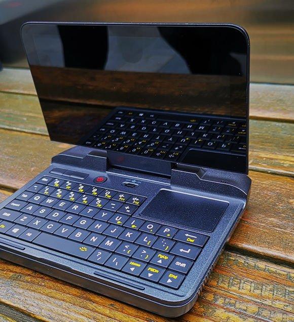 GPD MicroPC タッチパッド・キーボード