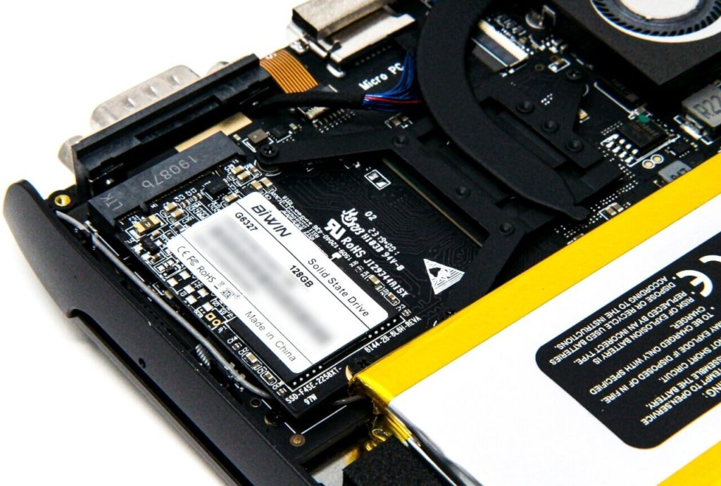 GPD MicroPC SSDを換装・交換