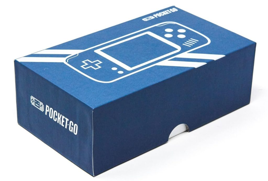 PocketGoのパッケージ