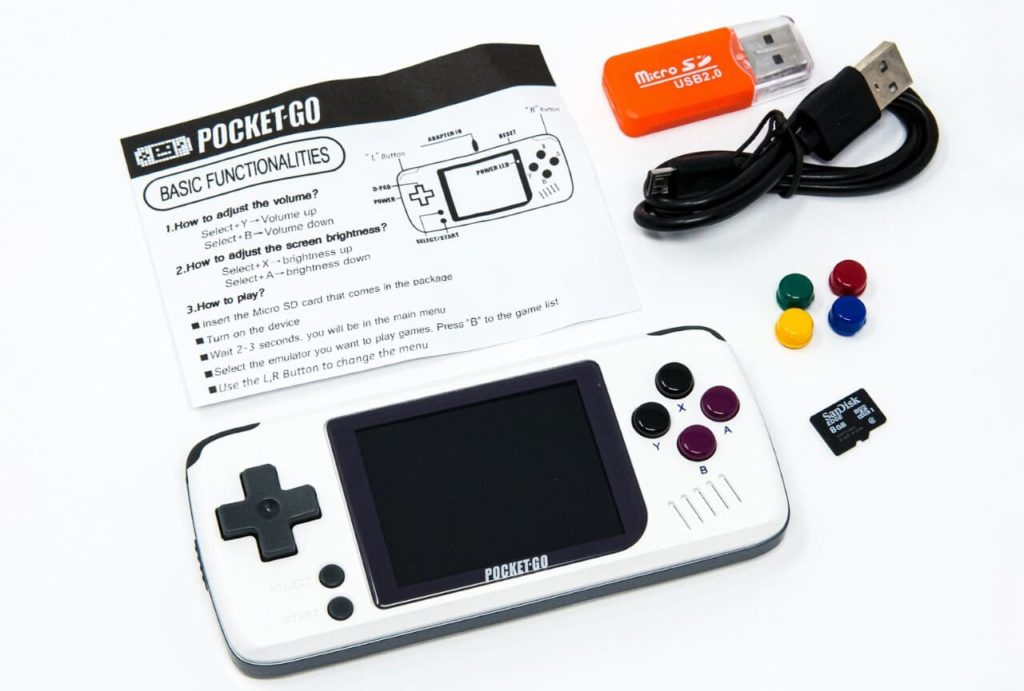 PocketGoの付属品