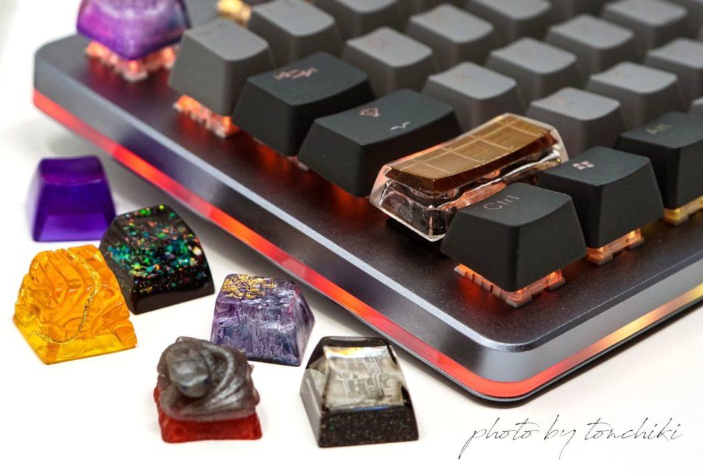 Massdrop CTRLと Artisan Keycap
