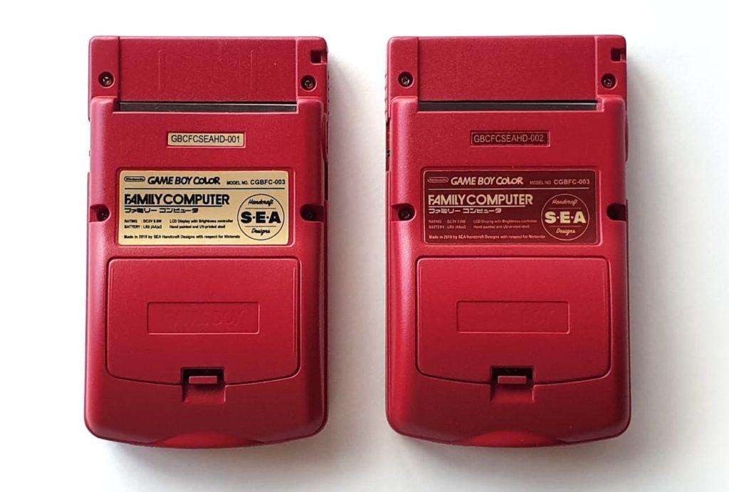 ゲームボーイカラー ファミコンエディションは2種類