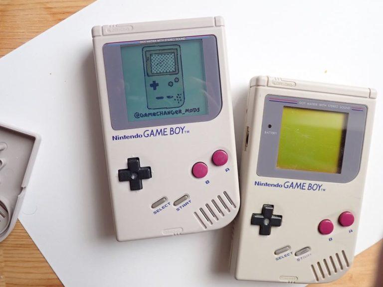 初代ゲームボーイ 大画面モデル