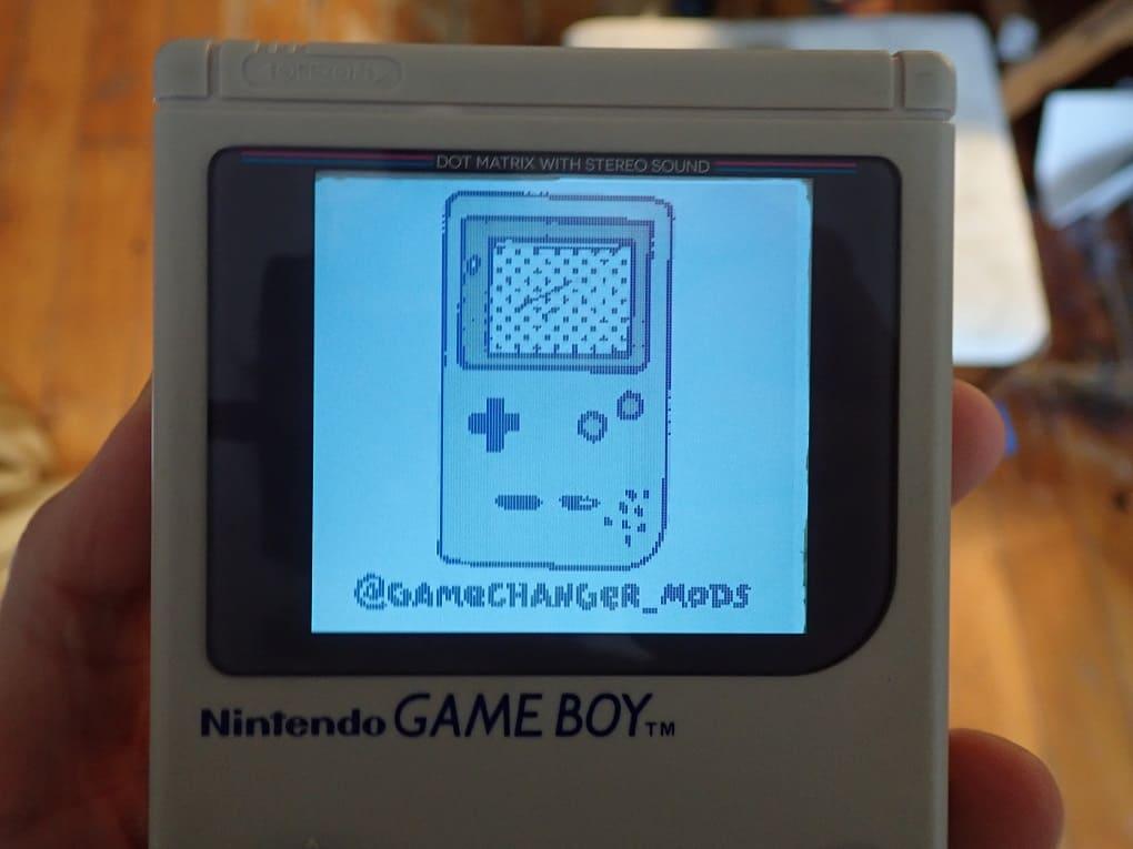 初代ゲームボーイ 大画面バックライト