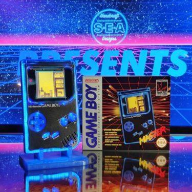 ド派手なイルミネーションは好きですか。初代ゲームボーイのカスタムモデル「MASTER GAMEBOY」が誕生。
