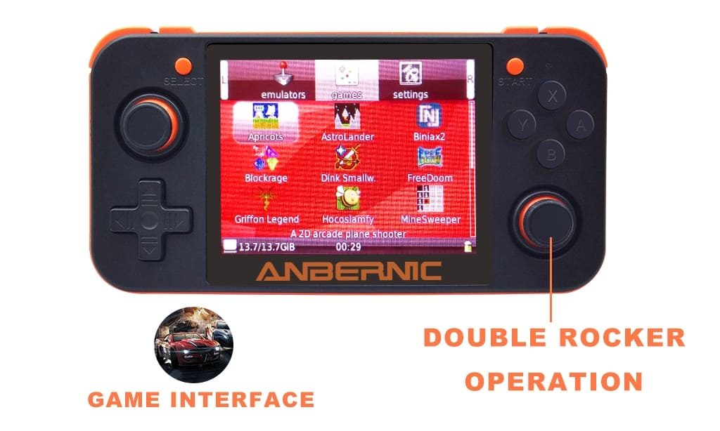 RG350 Game Console