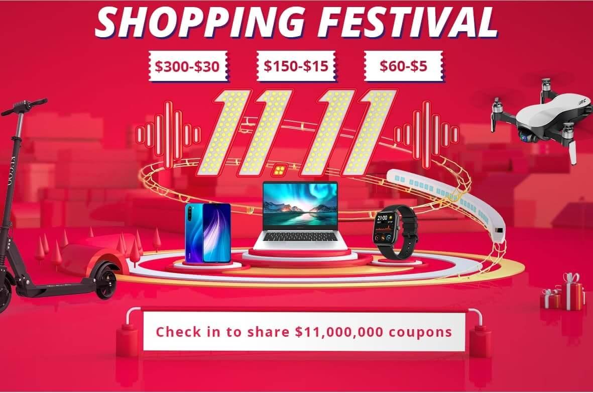 GeekBuying の独身の日セールは、割引クーポンで買い物しやすい!|2019年版