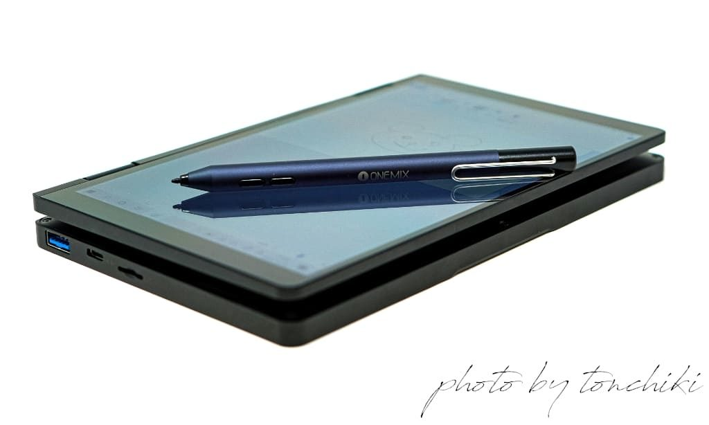 OneMix 3Pro ペン入力