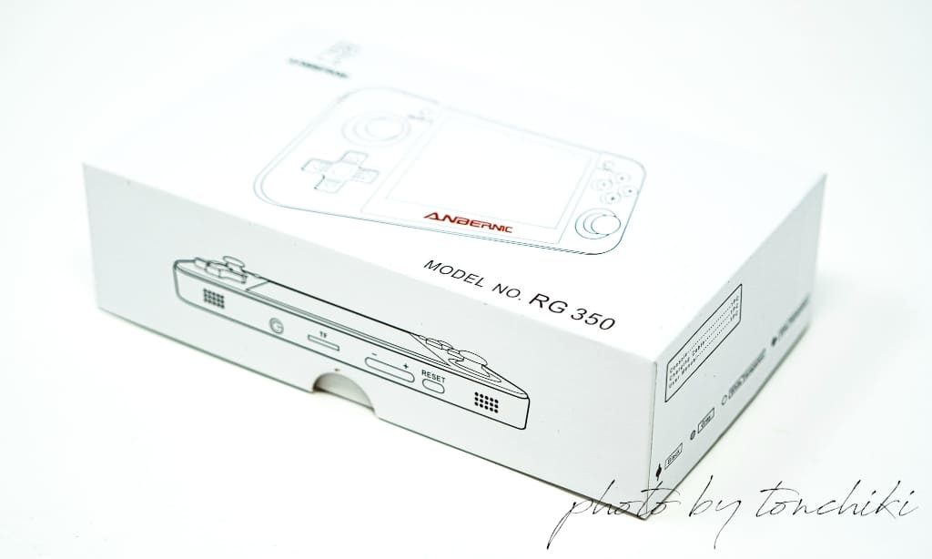 RG350 パッケージ