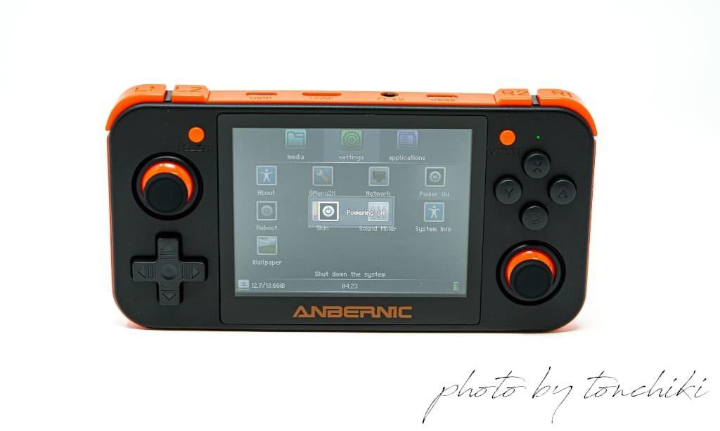 RG350 電源OFF