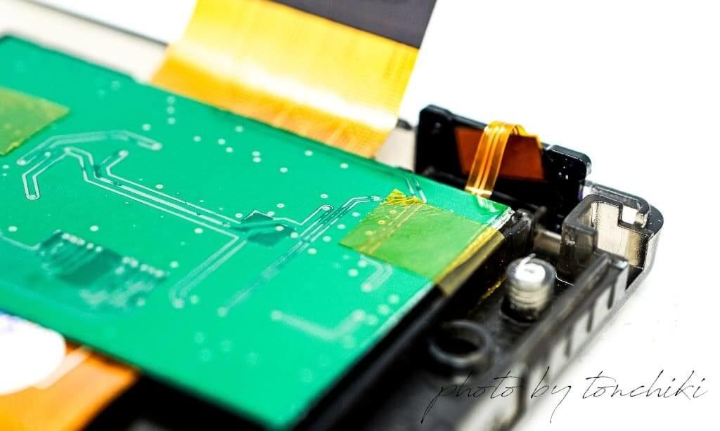 ゲームボーイカラー バックライト改造