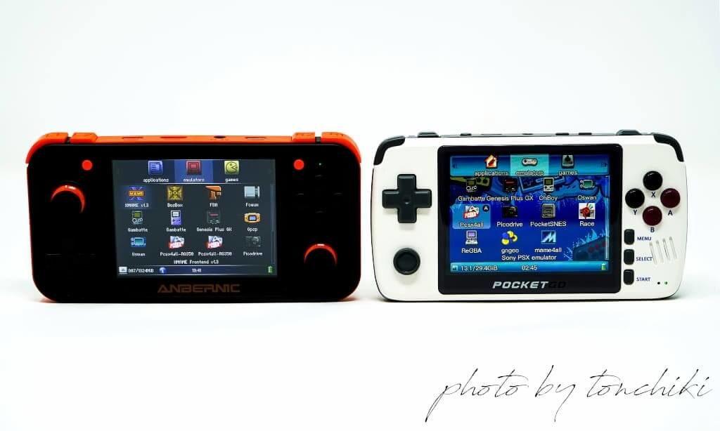 New PocketGo vs RG350