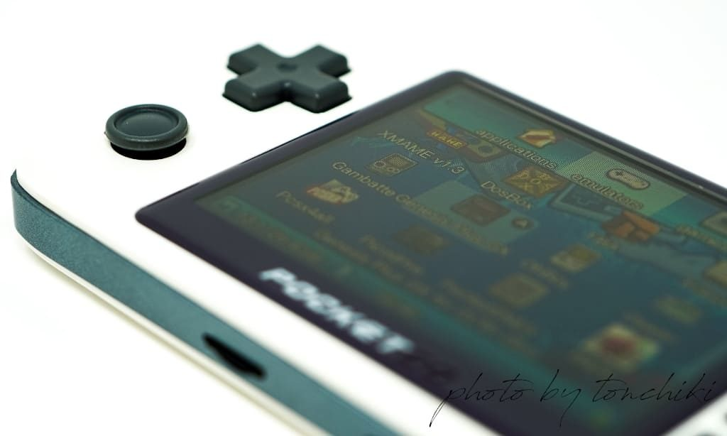 New PocketGo 操作ボタン