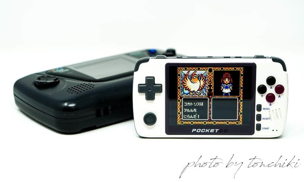 New PocketGo ゲームギア