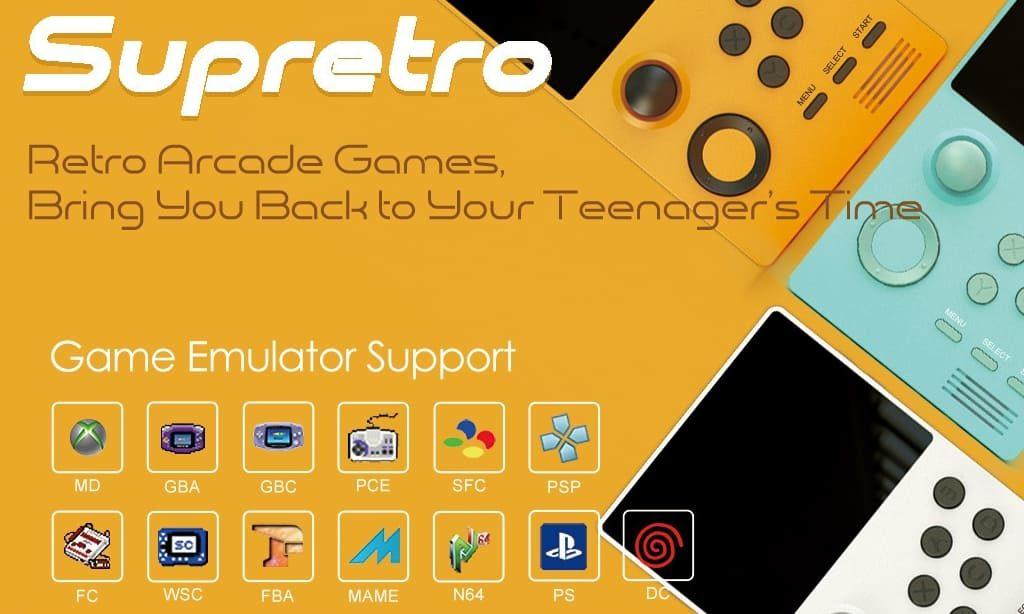 Super Retro Game Handheld エミュレータ