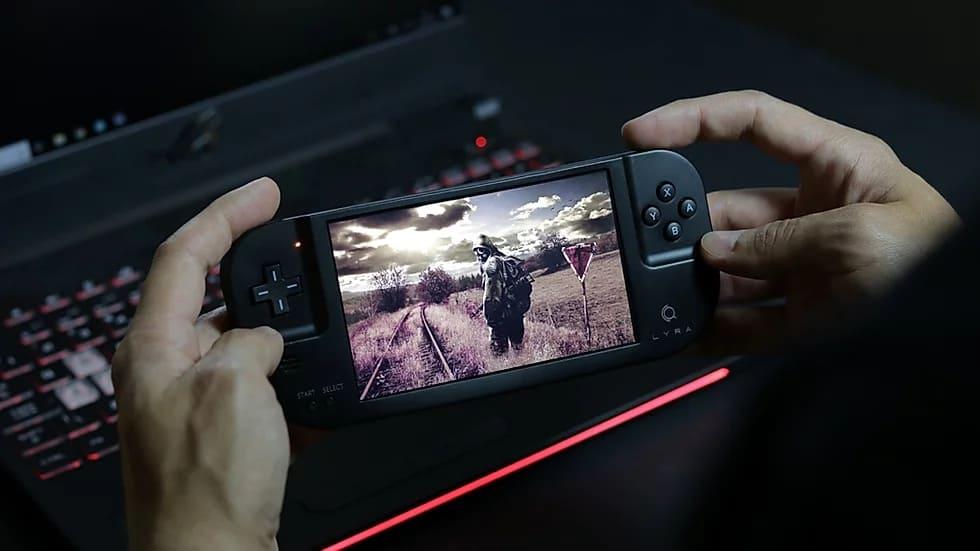 携帯ゲーム機 Creoqode LYRA